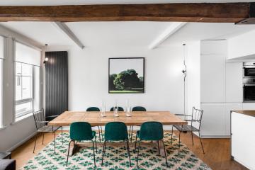 Rénovation et restructuration complète d'une maison dans le vieux Lille 59 000_Jean-Philippe AUGUSTO Architecte