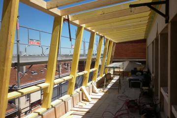 Extension et rénovation d'un appartement sur une terrasse