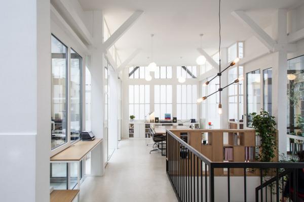 Rénovation de bureaux pour Creaminal