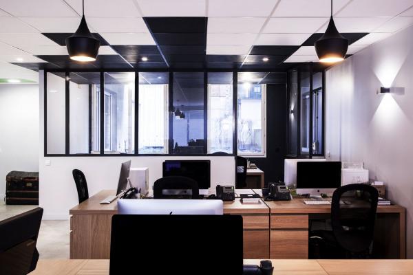 Rénovation de bureaux pour Let's Clic