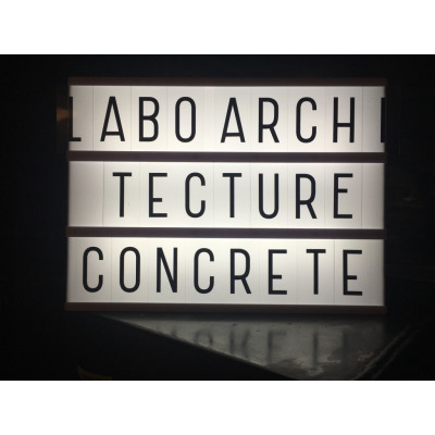 Laboratoire d'Architecture Concrete