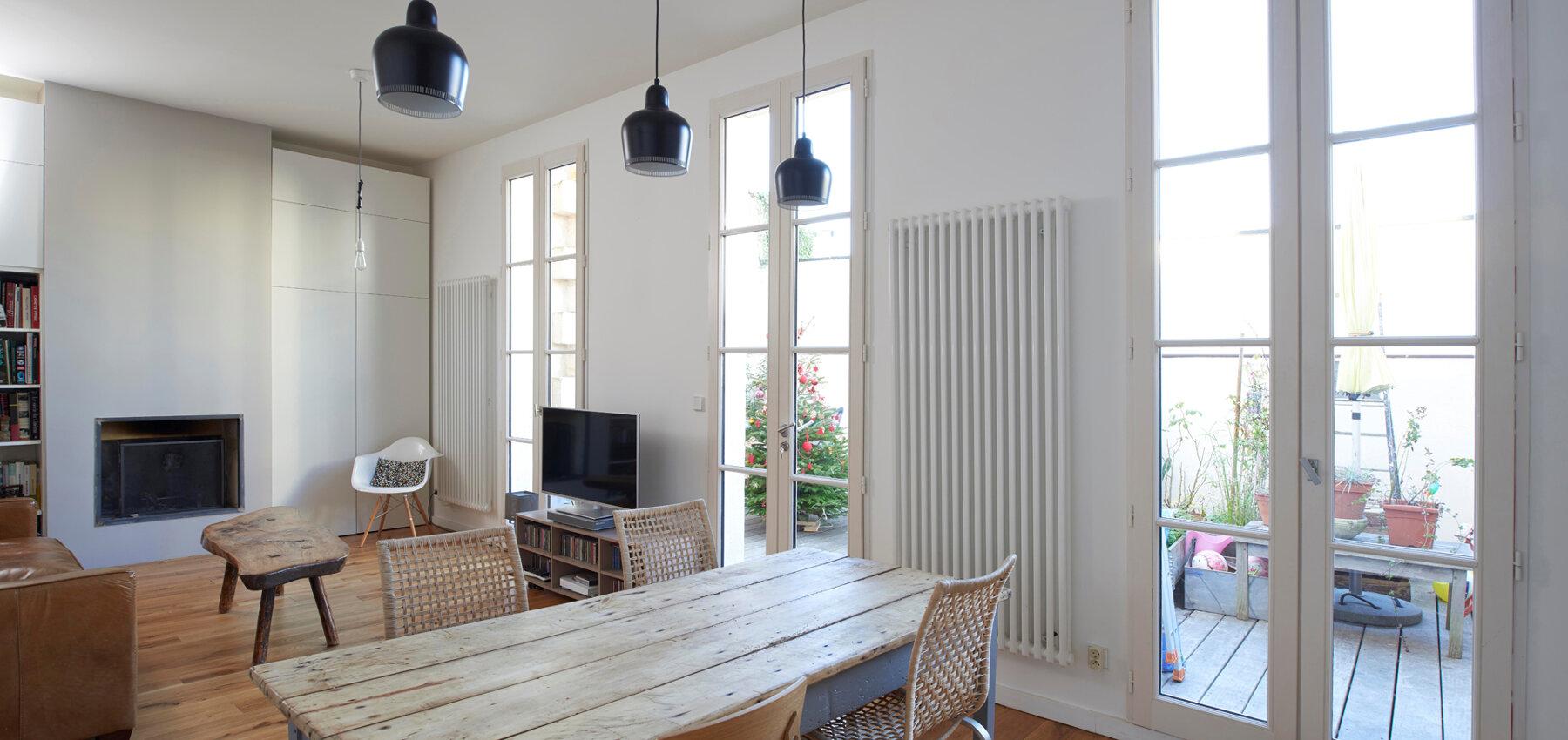 Appartement Chartrons, retructuration complète d'un appartement ancien.