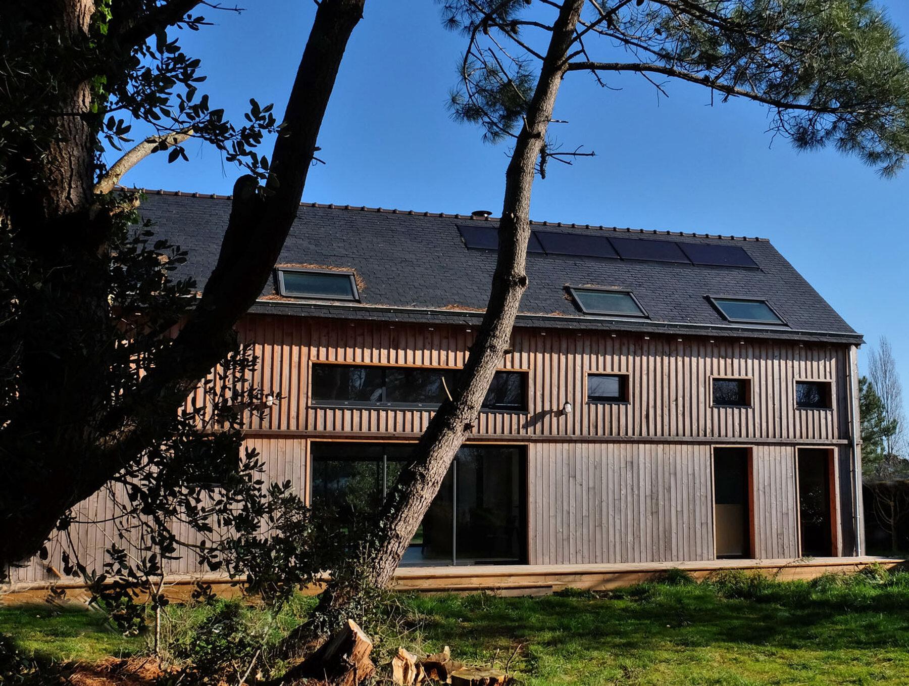 Construction neuve - Maison individuelle par un architecte Archidvisor