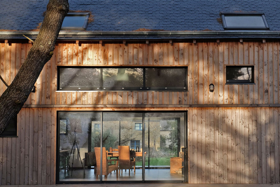 Projet MAISON BOIS BIOCLIMATIQUE MORBIHAN réalisé par un architecte Archidvisor