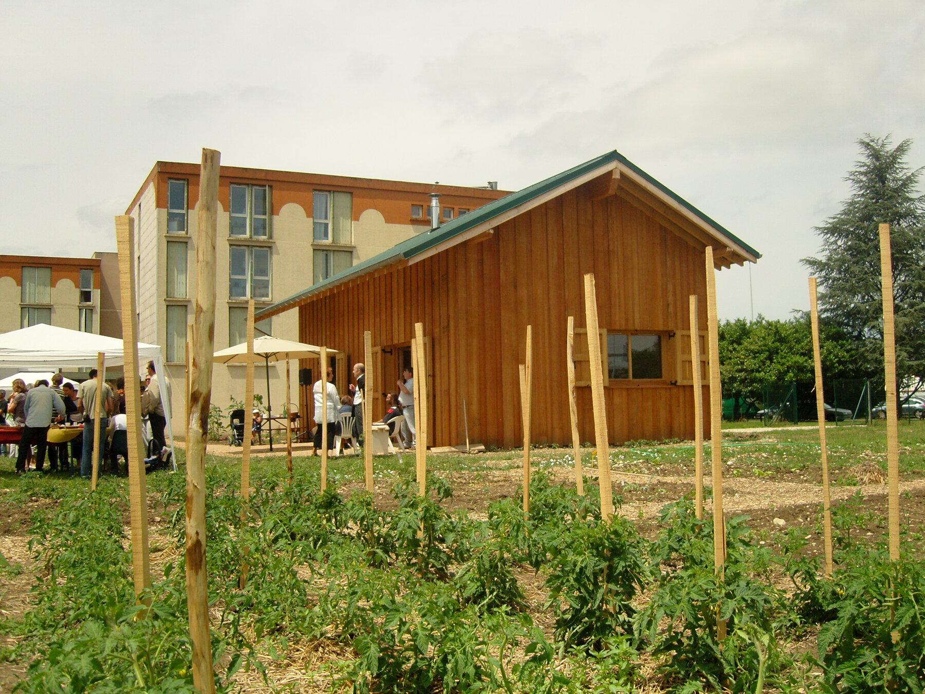 Maison Ecologique des Eco Jardiniers