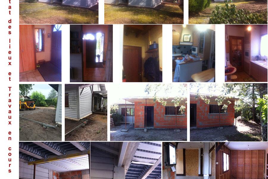 Extension et réaménagement d'une habitation - Cestas