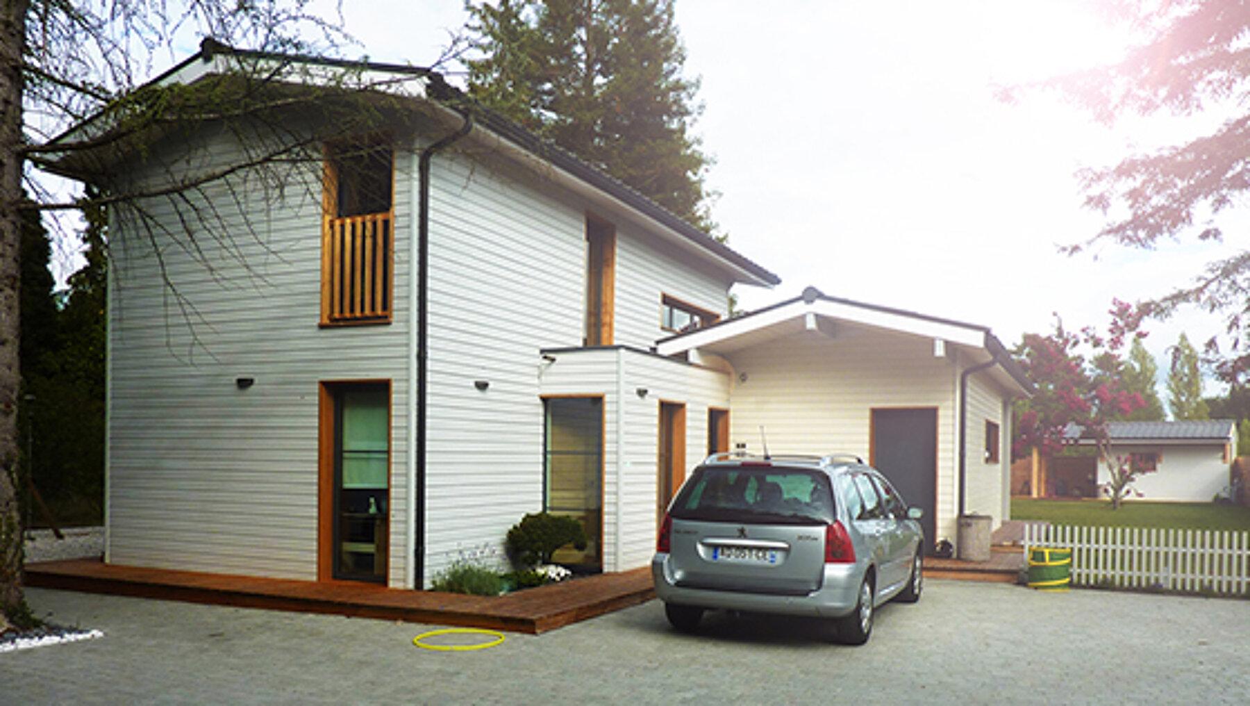 Construction d'une Maison individuelle en bois