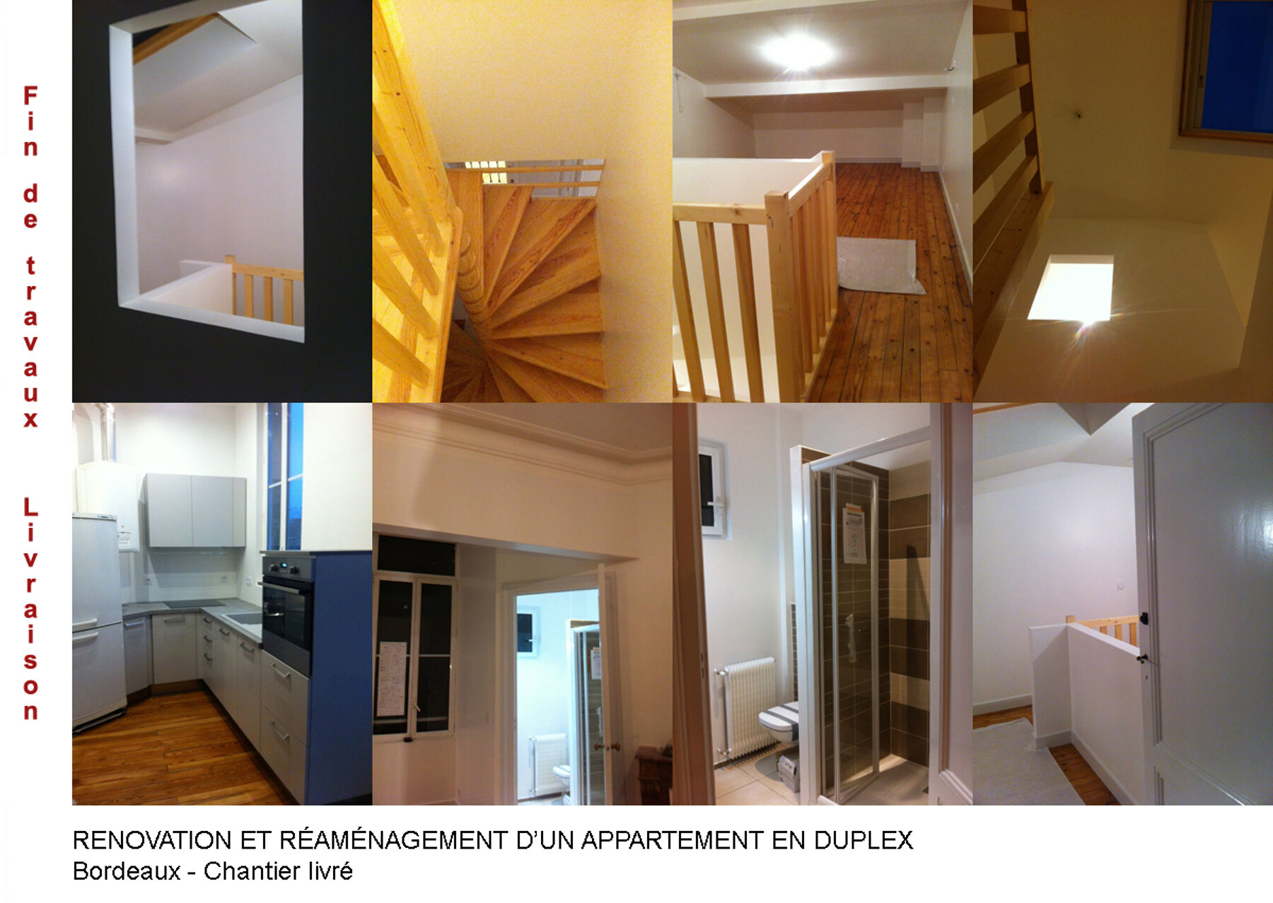 Réaménagement en duplex - Bordeaux
