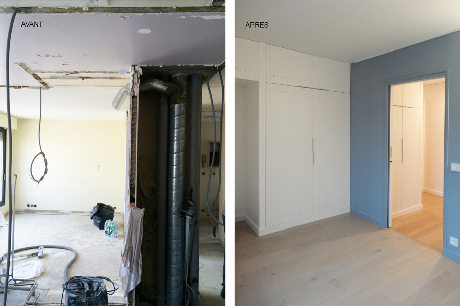 Restructuration appartement
