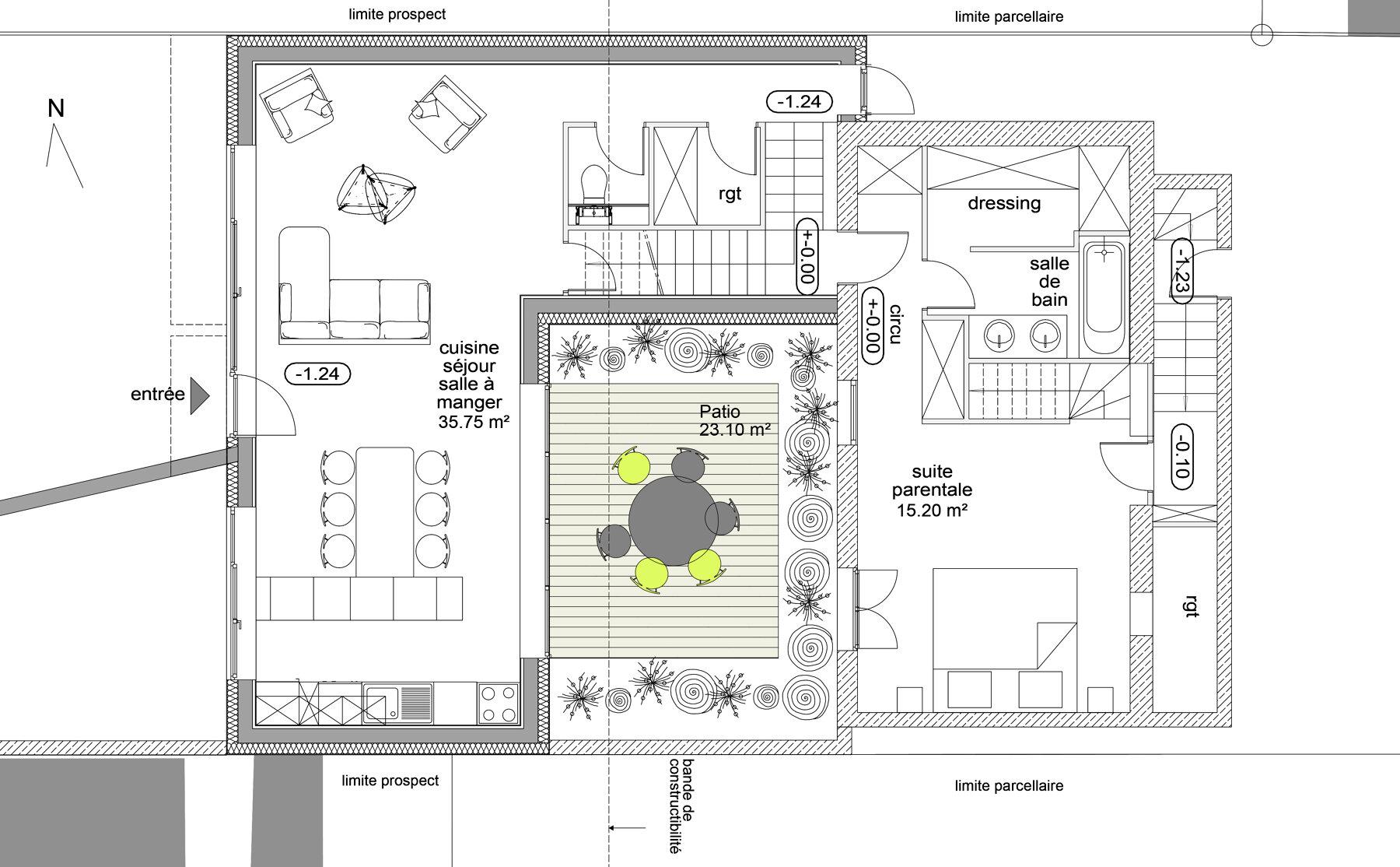 Extension - Maison individuelle par un architecte Archidvisor