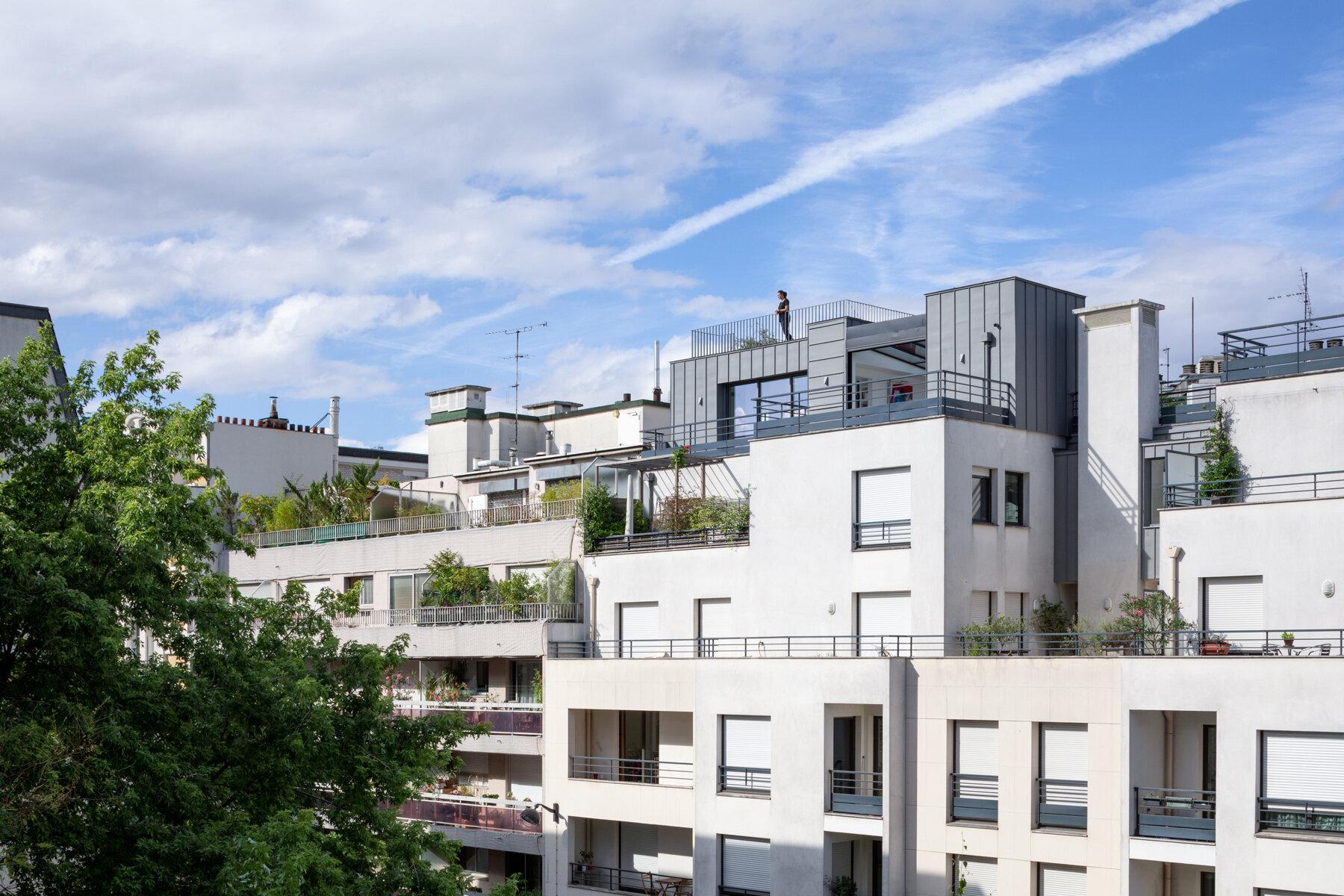Surélévation - Appartement par un architecte Archidvisor