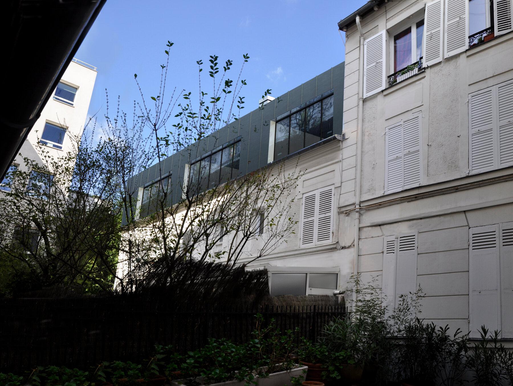 RR92 - surelevation 3 maisons - Boulogne Billancourt