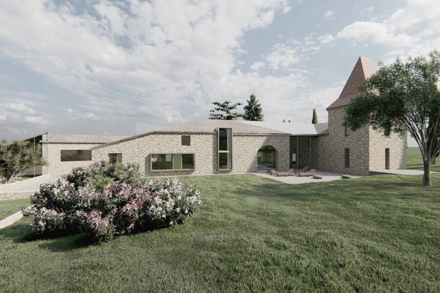 Projet BERRAC réalisé par un architecte Archidvisor