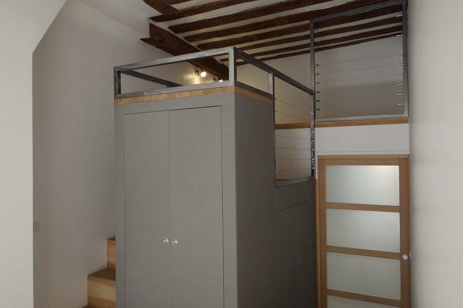 Rénovation d'un Loft et création de mezzanine