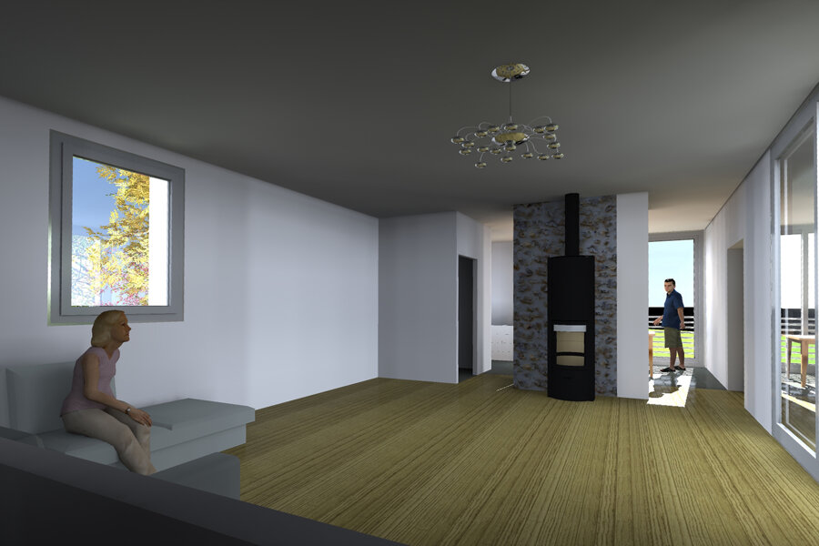 Projet Extension et surélévation d'une maison dans le Cantal réalisé par un architecte Archidvisor