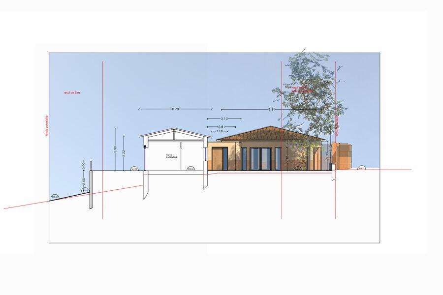 Extension d'une maison à Nice
