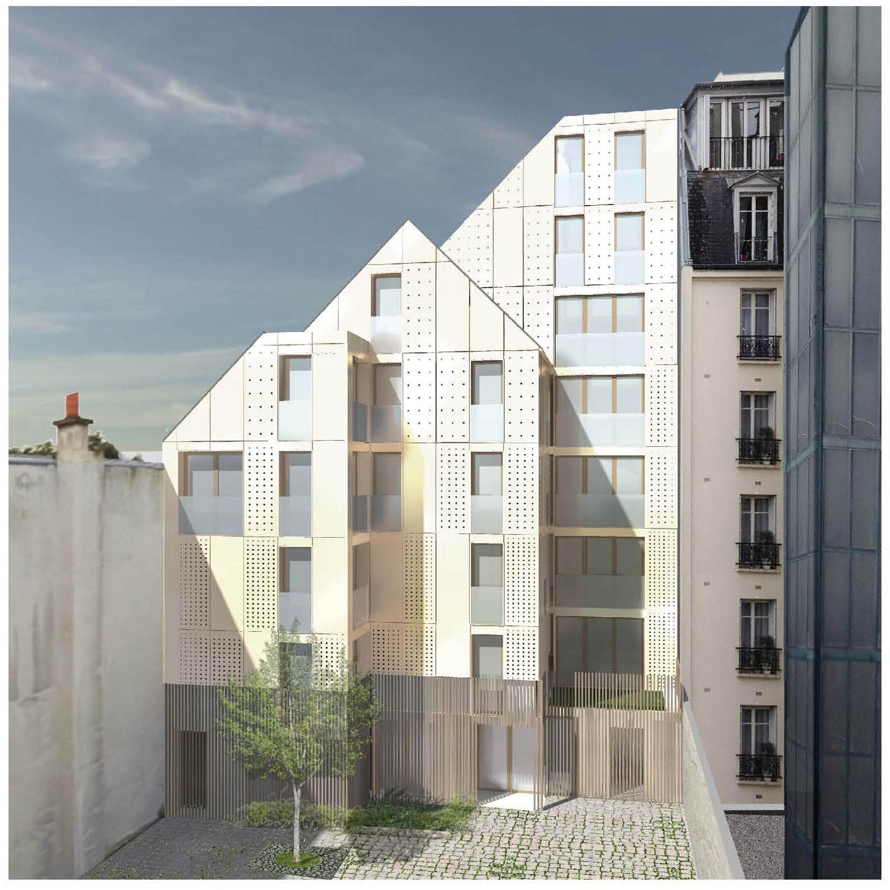 Immeuble Paris 20° / 1300 m²