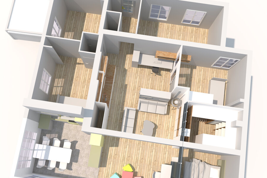 Restructuration d'un loft