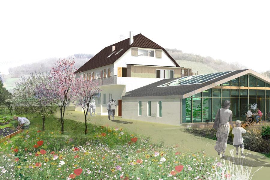 Projet Reconversion d'un atelier de charpentier en loft réalisé par un architecte Archidvisor