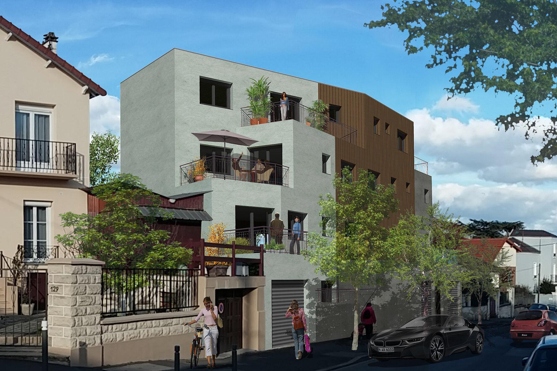 7 logements à Montreuil