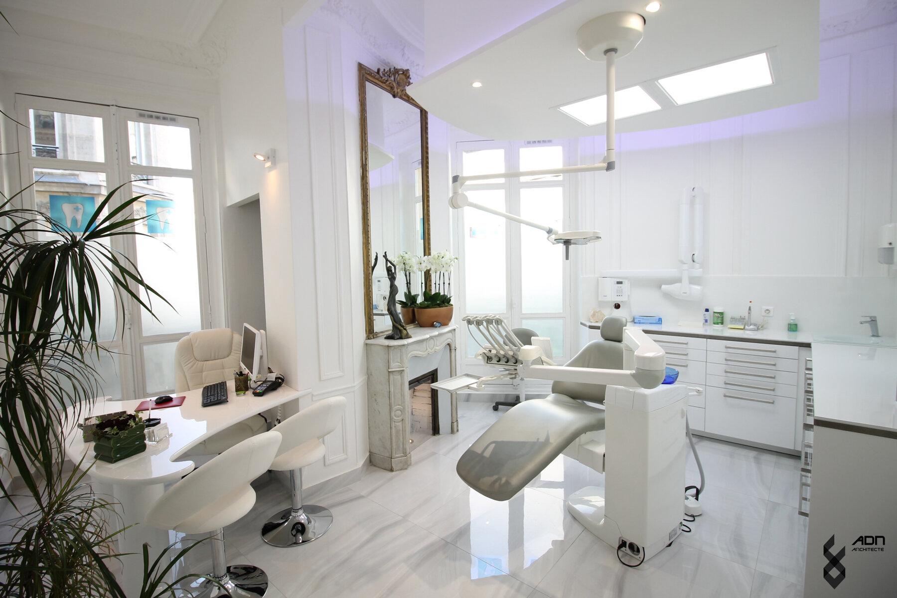 Cabinet dentaire, Paris 9ème