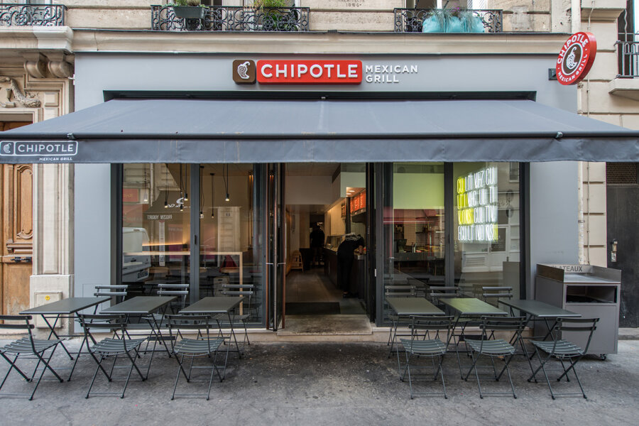 Restaurant CHIPOTLE, Rue Montfaucon