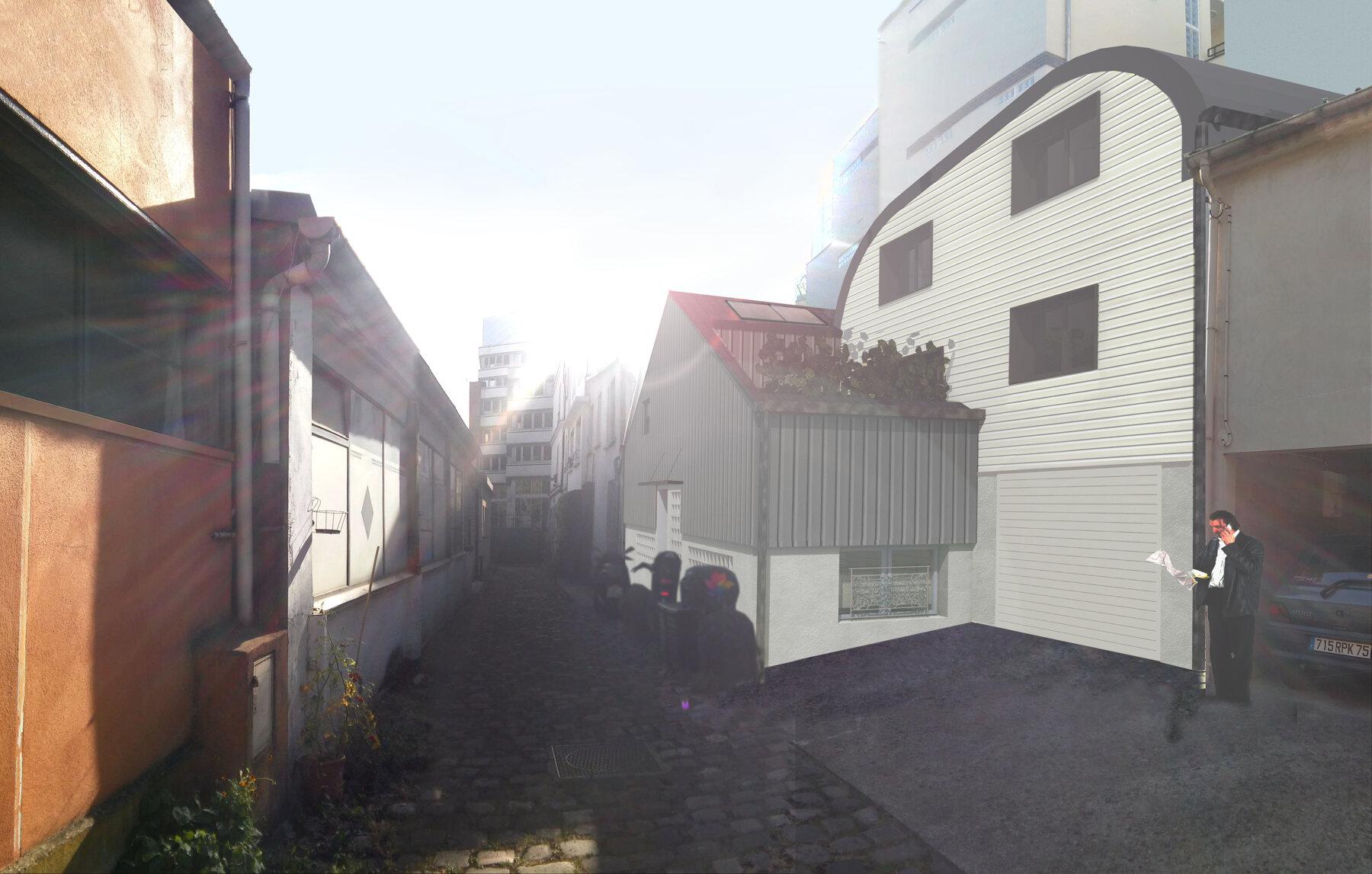 Montreuil 1 surélévation