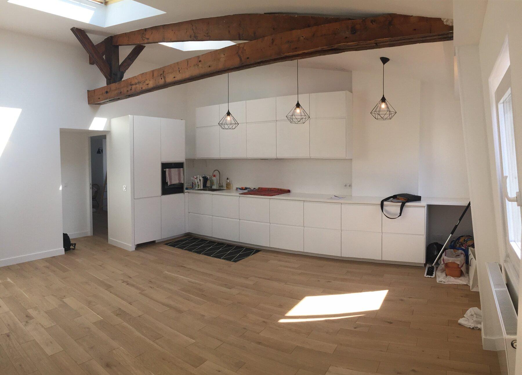 Appartement + combles Saint-Mandé