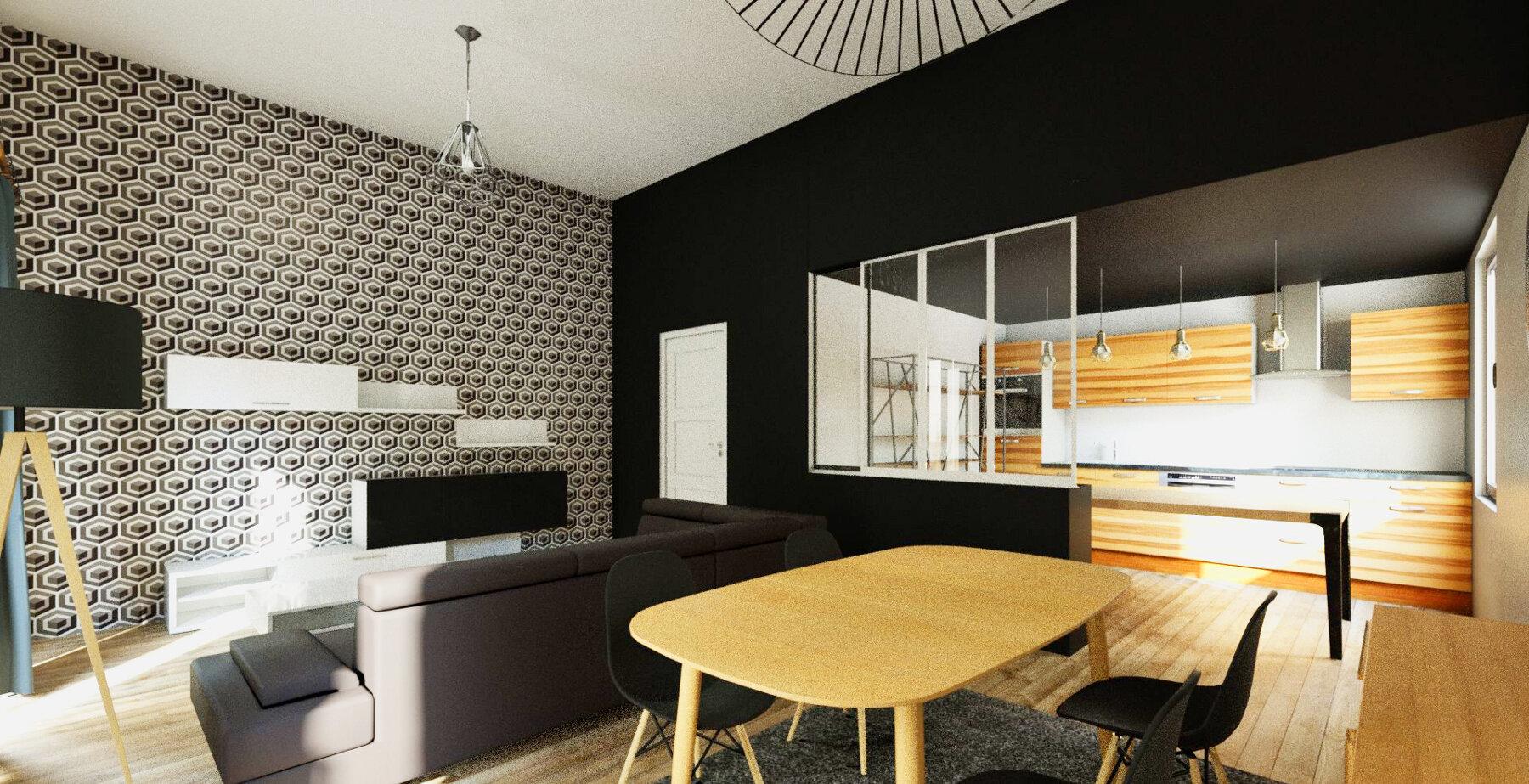 Réaménagement intérieur - Maison individuelle par un architecte Archidvisor
