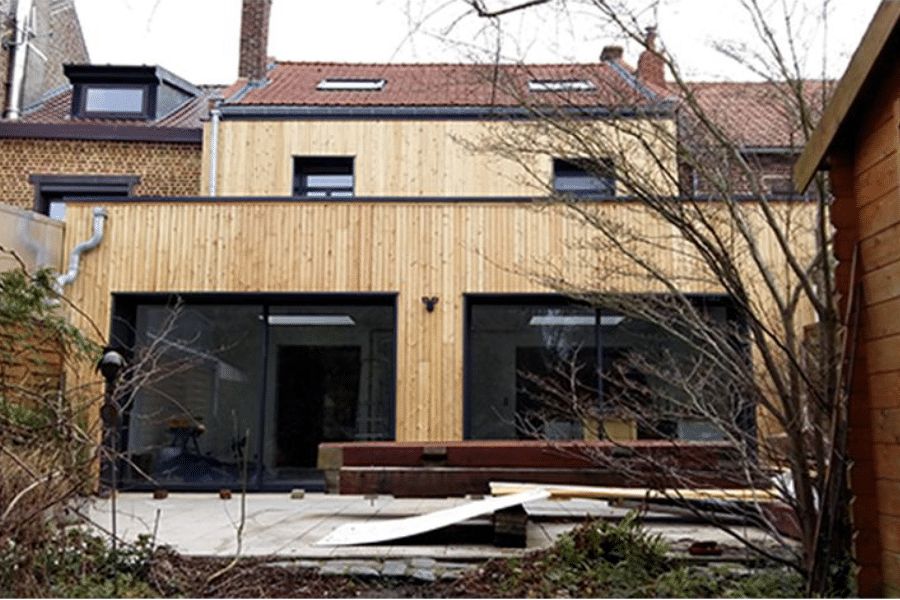 Extension d'une maison