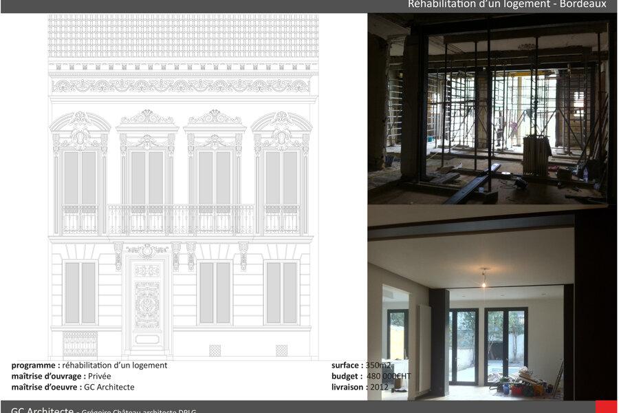 Projet Saint Genès réalisé par un architecte Archidvisor