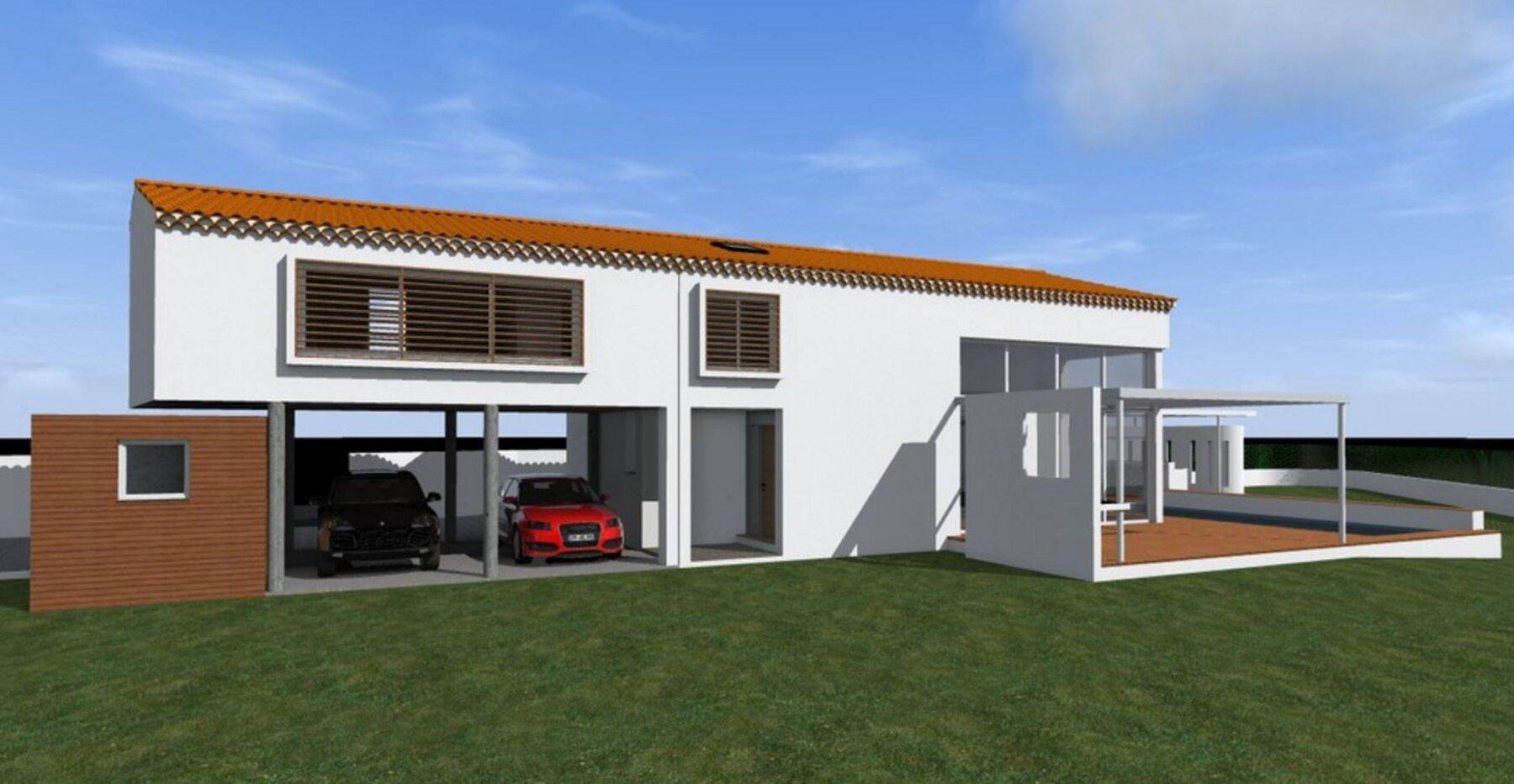 Extension de la villa B