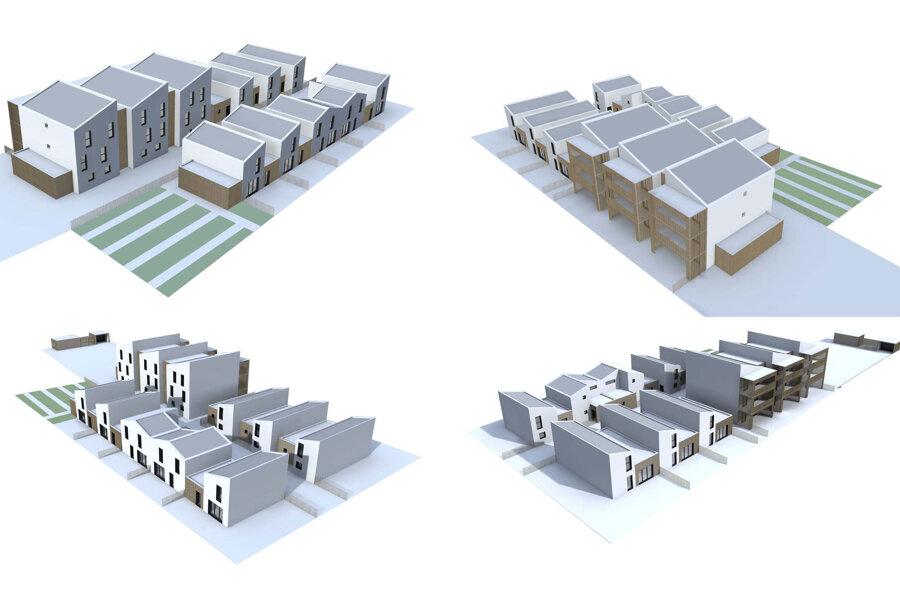 village urbain de 17 logements