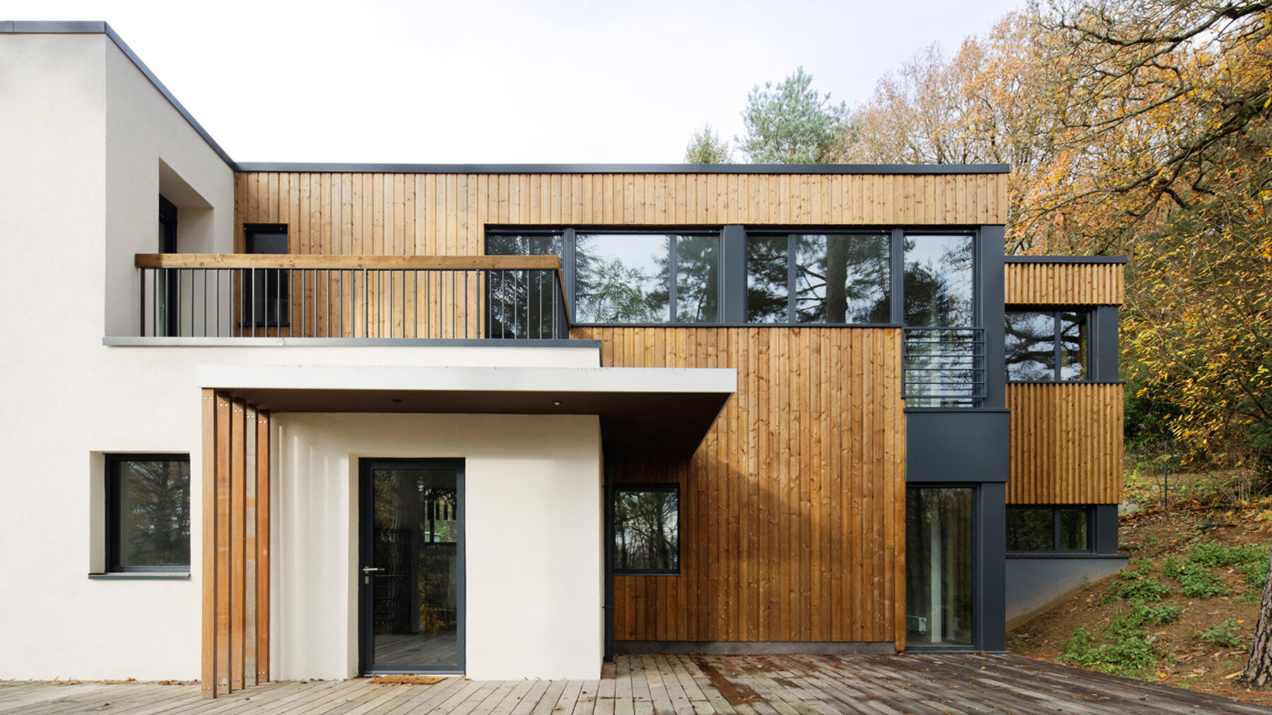 Rénovation lourde et extension d'une maison des années 30