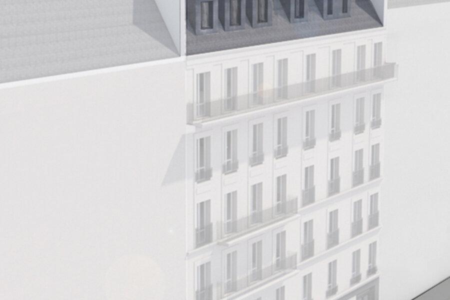 Surélévation – Paris (75009)