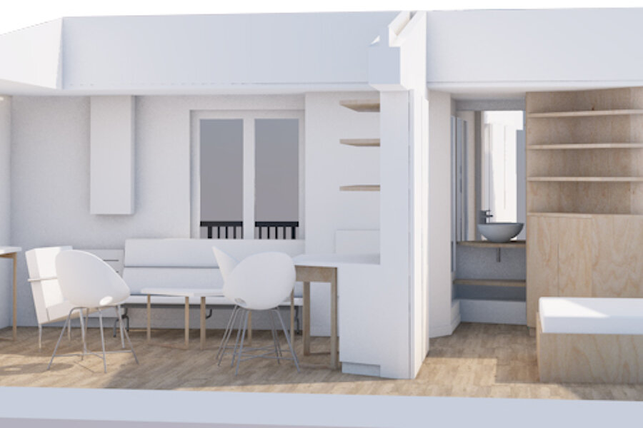 Restructuration d'un appartement – Paris (75008)