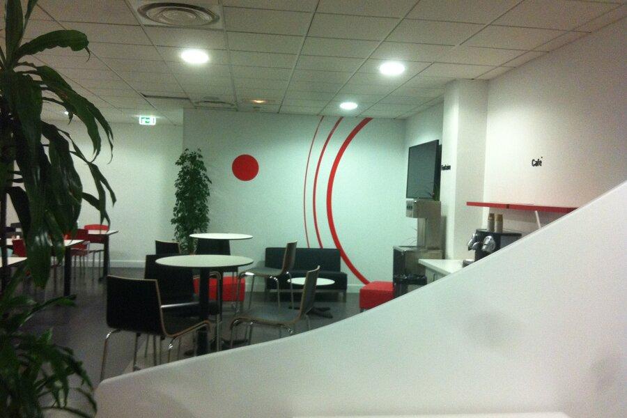 Agencement d'une Cafétéria d'entreprise
