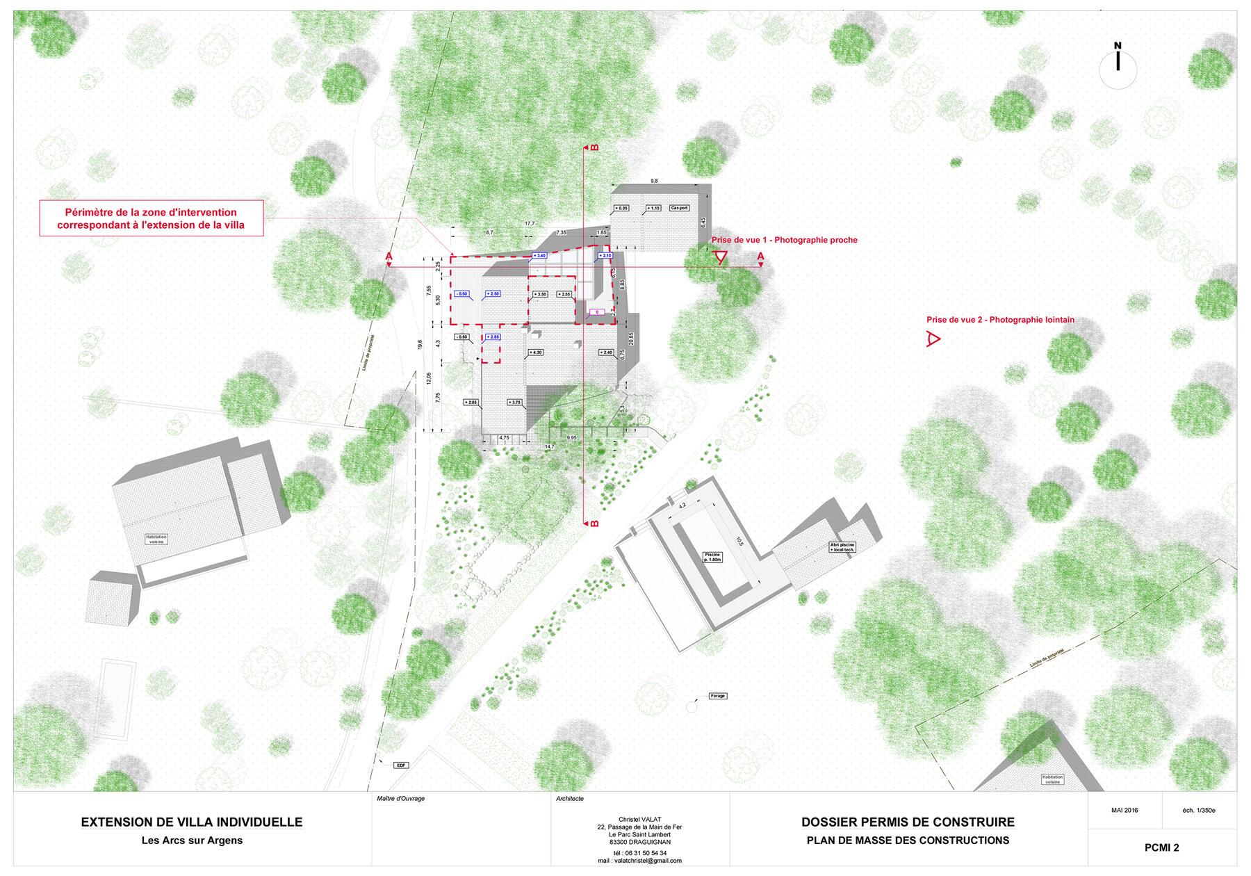 Extension de villa individuelle - 1