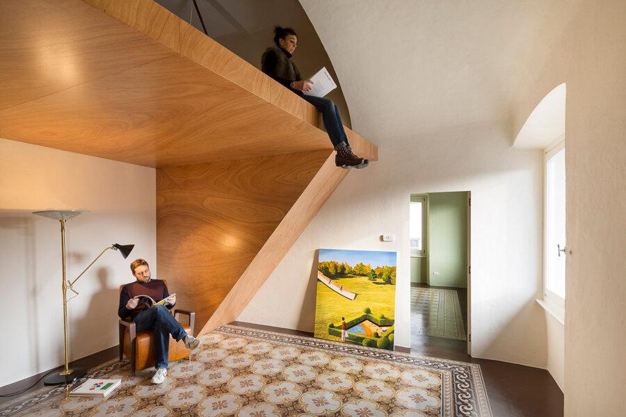 Rénovation d'un appartement à Chiavari, Italie