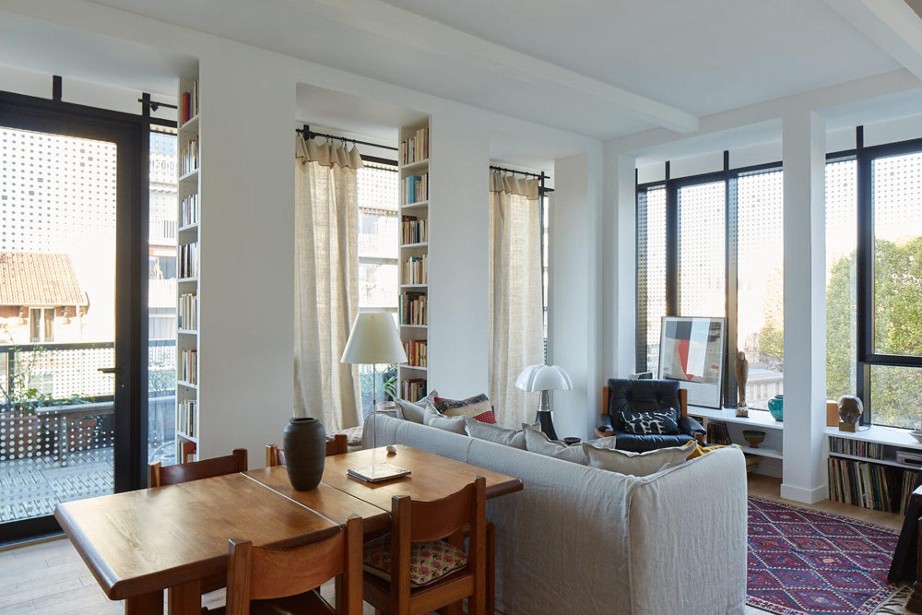 Appartement immeuble Nuages