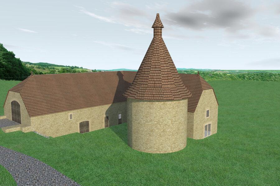 transformation d'un bâtiment agricole en habitation