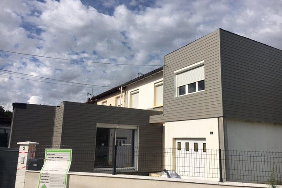 Projet Surélévation et extension d'une habitation existante - Pessac réalisé par un architecte Archidvisor