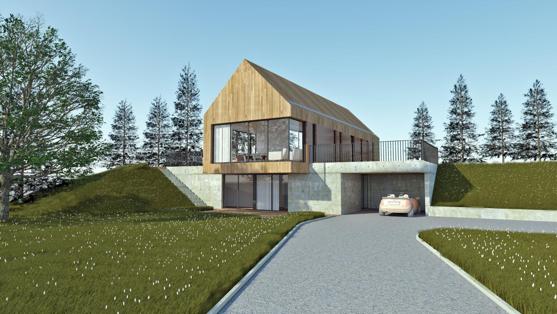 Construction Maison En Pente ᐅ construction neuve à ≡ construction d'une maison sur un