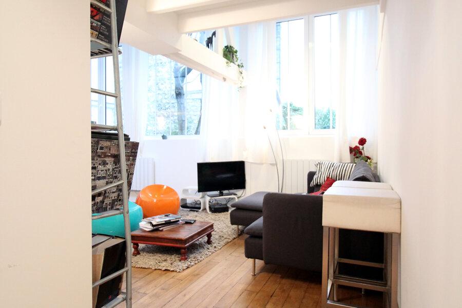 Loft avec mezzanine, Paris 5ème