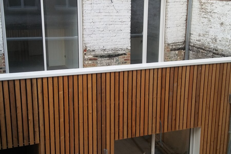 Restructuration d'un immeuble lillois en collectif de 4 appartements.