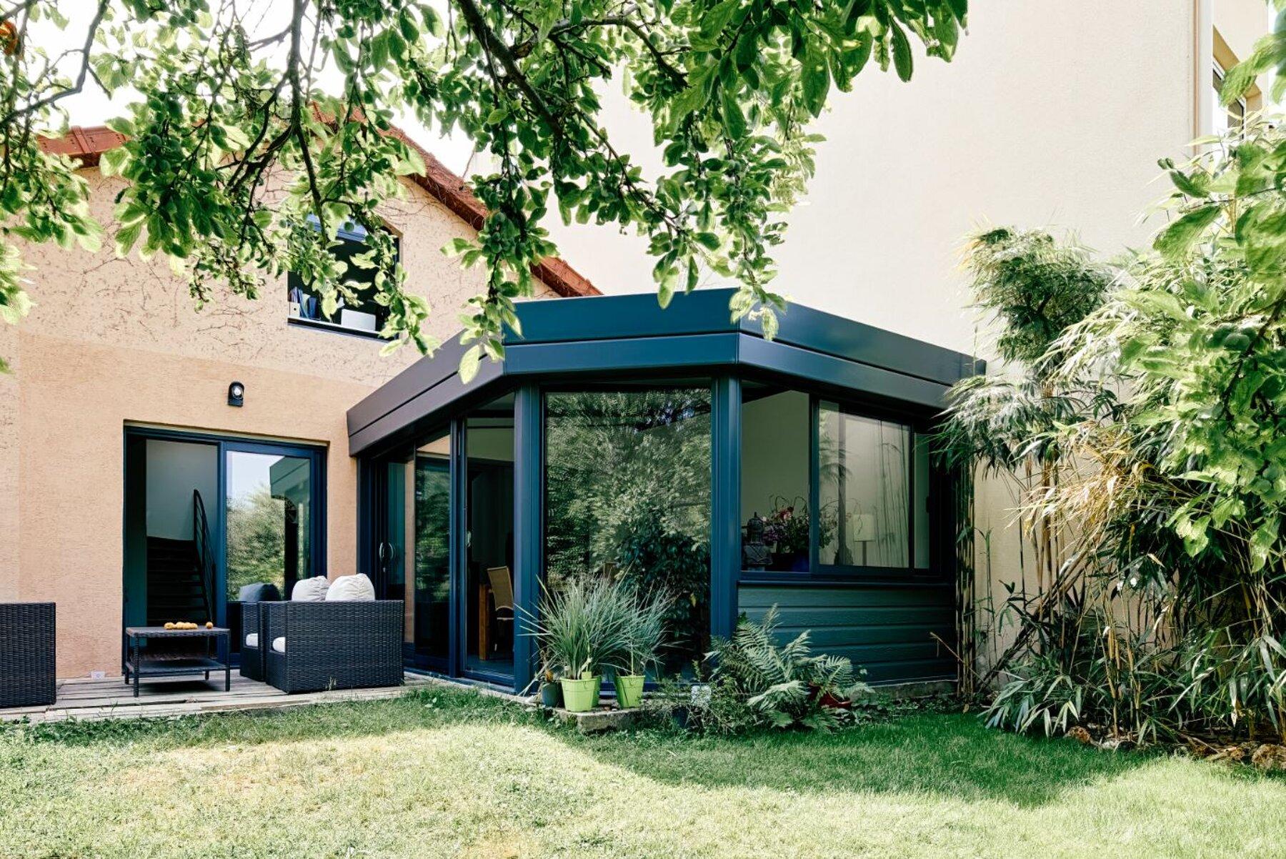 Rénovation / extension d'une maison de ville à Clamart (92)