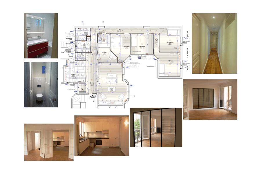Rénovation appartement 75016