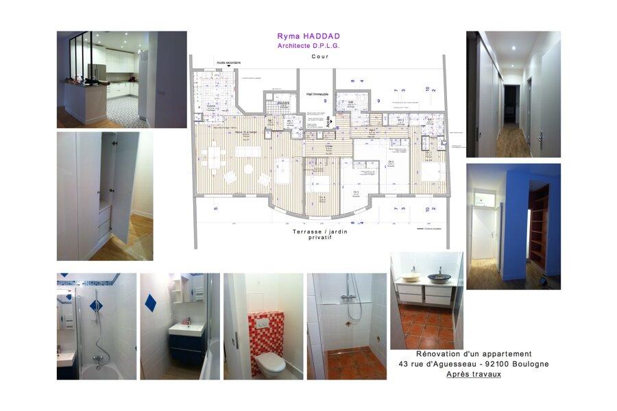 rénovation appartement 92100