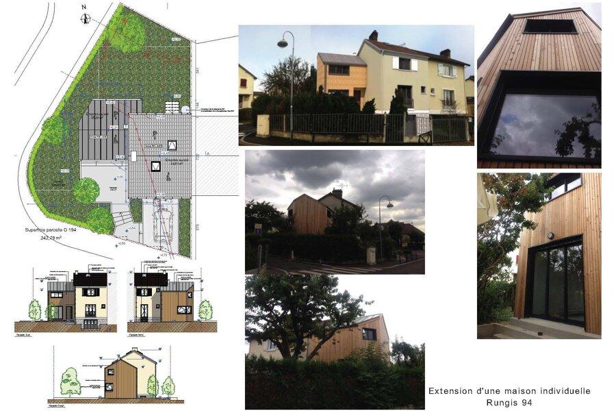 Extension bois 40 m2