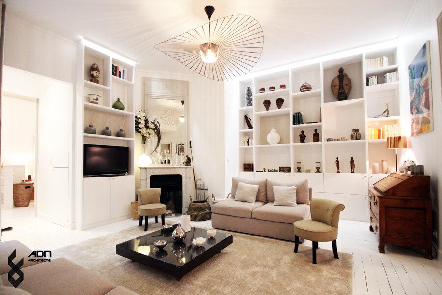Rénovation d'un appartement + cave, Paris 16ème